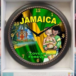 Other - Jamaica Lovers Clock wall clock